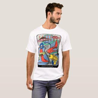 「世紀半ばaで絵を描くモダンな魅力侵入」の tシャツ