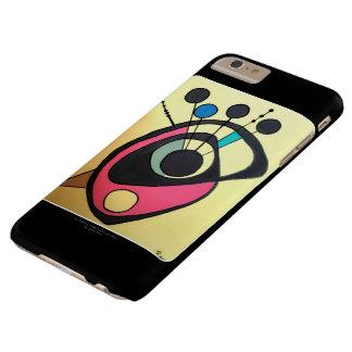 「世紀半ばaのモダンな静物画黄色」の barely there iPhone 6 plus ケース