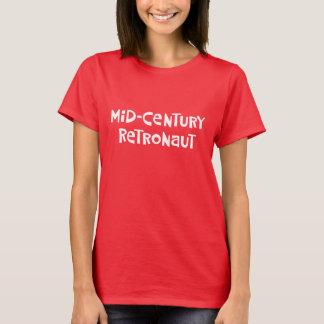 世紀半ばRetronaut Tシャツ