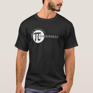 世紀3.14のPi日のワイシャツの時間 Tシャツ