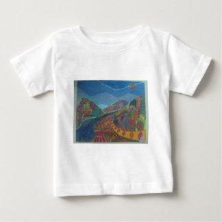 丘および幸福 ベビーTシャツ