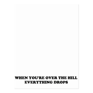丘に ポストカード