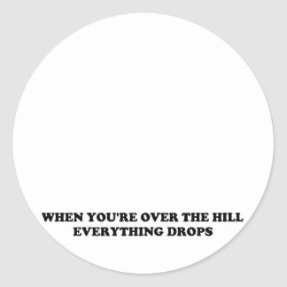 丘に 丸型シール