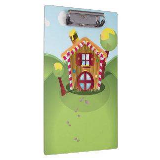 丘のキャンデーの家 クリップボード