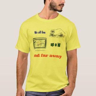 丘の上及び遠くに Tシャツ