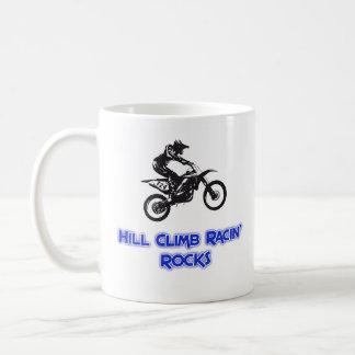 丘の上昇Racin コーヒーマグカップ