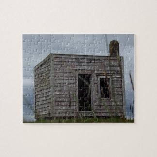 丘の古い解決者の掘っ建て小屋 ジグソーパズル