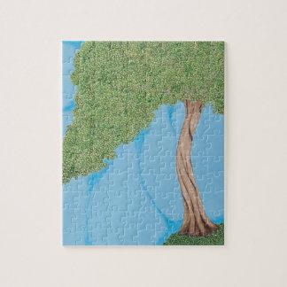 丘の木 ジグソーパズル