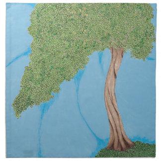 丘の木 ナプキンクロス