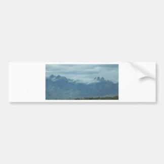 丘の雲 バンパーステッカー