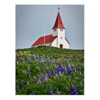 丘の頂上教会 ポストカード