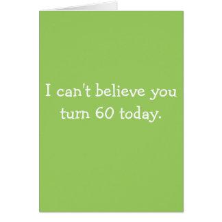 丘カード上の回転60を信じることができません カード