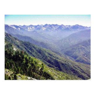 丘上の霧 ポストカード