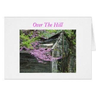 丘上のRedbuds及び古い掘っ建て小屋、 カード