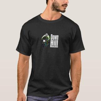 丘Mentalist山のバイクもしくは自転車に乗る人のTシャツの暗闇 Tシャツ