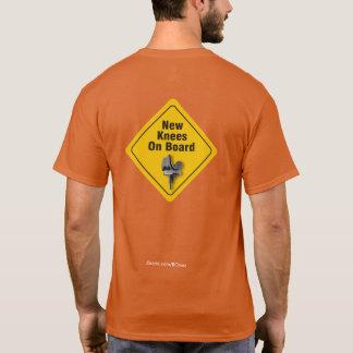 """両側のあるTKRのTシャツ""""の上の""""新しい膝 Tシャツ"""