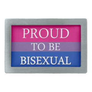 両性があること誇りを持った 長方形ベルトバックル