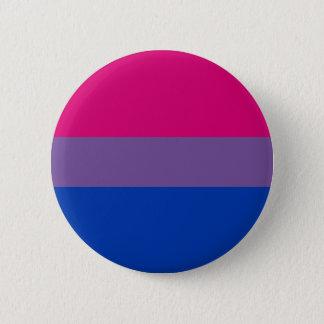 両性のプライドの旗ボタン 5.7CM 丸型バッジ