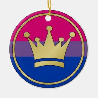 両性のプライドの王冠のオーナメント セラミックオーナメント