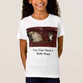 両方の方法それを有することができます Tシャツ