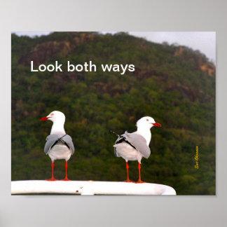 両方の方法ポスターを見て下さい ポスター