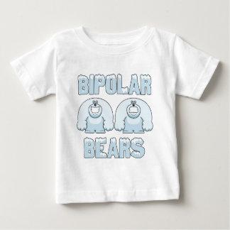 両極くま ベビーTシャツ