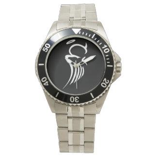 両極天使のステンレス鋼の腕時計 腕時計