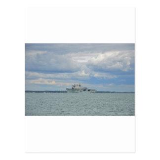 両用強襲艦の海 ポストカード