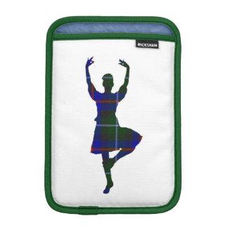 両面スコットランドの高地のダンサー iPad MINIスリーブ