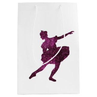 両面砂糖のプラム妖精 ミディアムペーパーバッグ