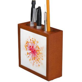並置のペンか鉛筆のオルガナイザー ペンスタンド