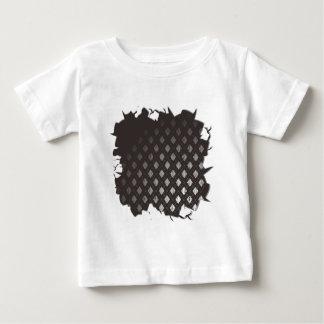 中の一流のヴィンテージの布 ベビーTシャツ
