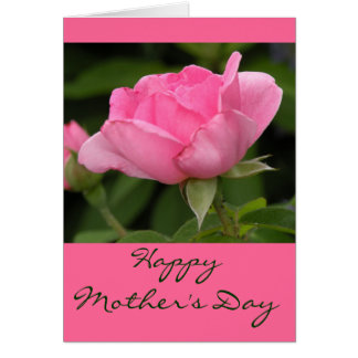 中の幸せな母の日カードを消して下さい カード