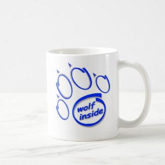 中オオカミ コーヒーマグカップ