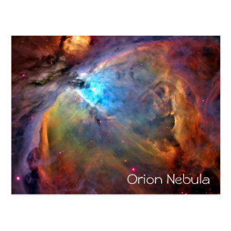 中オリオンの星雲の郵便はがきのブランク ポストカード