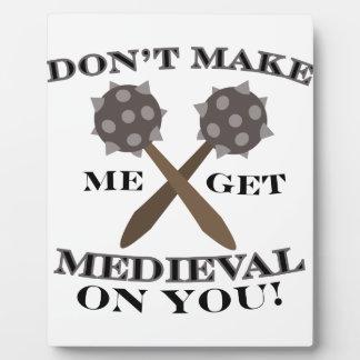 中世になって下さい フォトプラーク