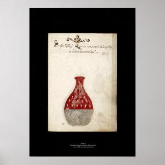 中世イタリアンな錬金術ポスタープレート9 ポスター