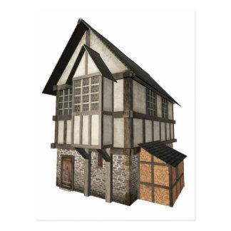 中世タウンハウス ポストカード