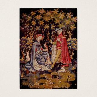 中世タペストリーの恋人 名刺