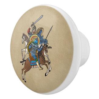 中世ロシア語Bogatyr セラミックノブ