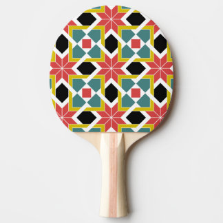 中世ロマネスク様式の赤十字 卓球ラケット