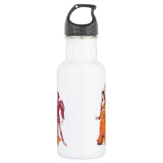 中世主および女性 ウォーターボトル