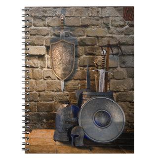 中世兵器類のノート ノートブック