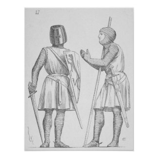 中世兵士 ポスター