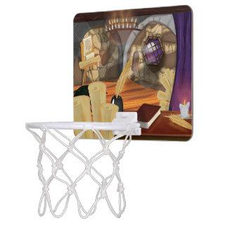 中世勉強 ミニバスケットボールネット