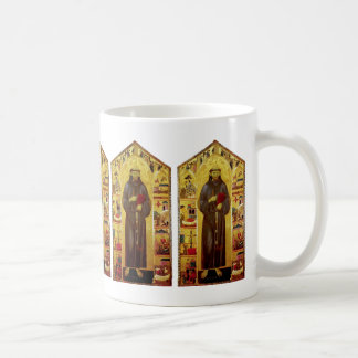 中世図像学聖者アッシジのフランチェスコ コーヒーマグカップ
