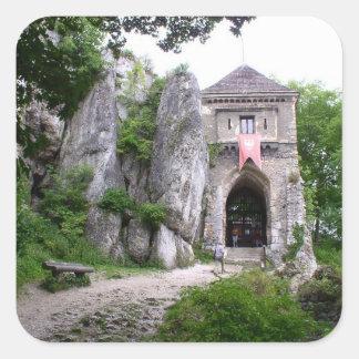 中世城の台なし スクエアシール