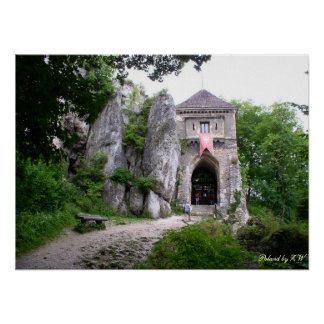 中世城ポスター プリント