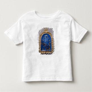 中世携帯用アイコン、おそらく(ラピスラズリ) トドラーTシャツ