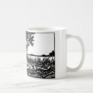 中世楽師2 コーヒーマグカップ